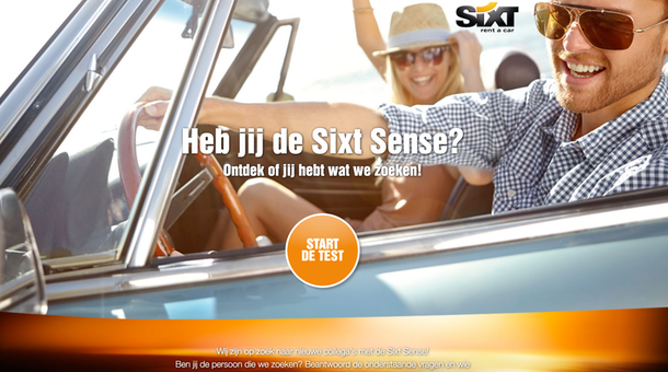Vertigo 6 Marketing - SIXT Sense