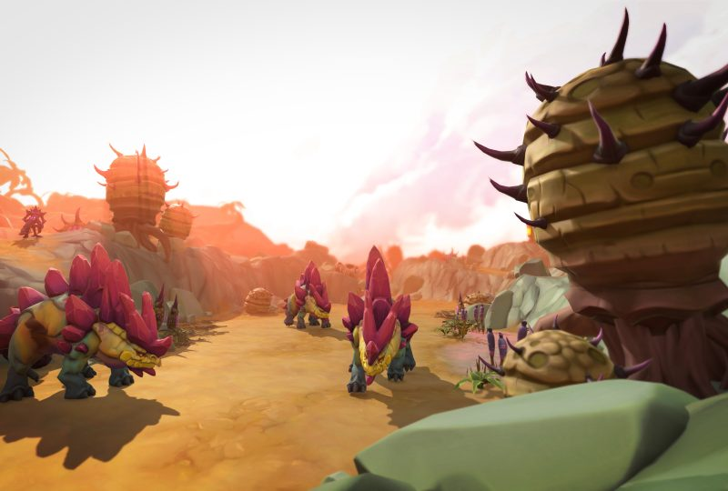 RuneScape 'fossil-itates' the introduction of dinosaurs with the launch of The Land Out of Time