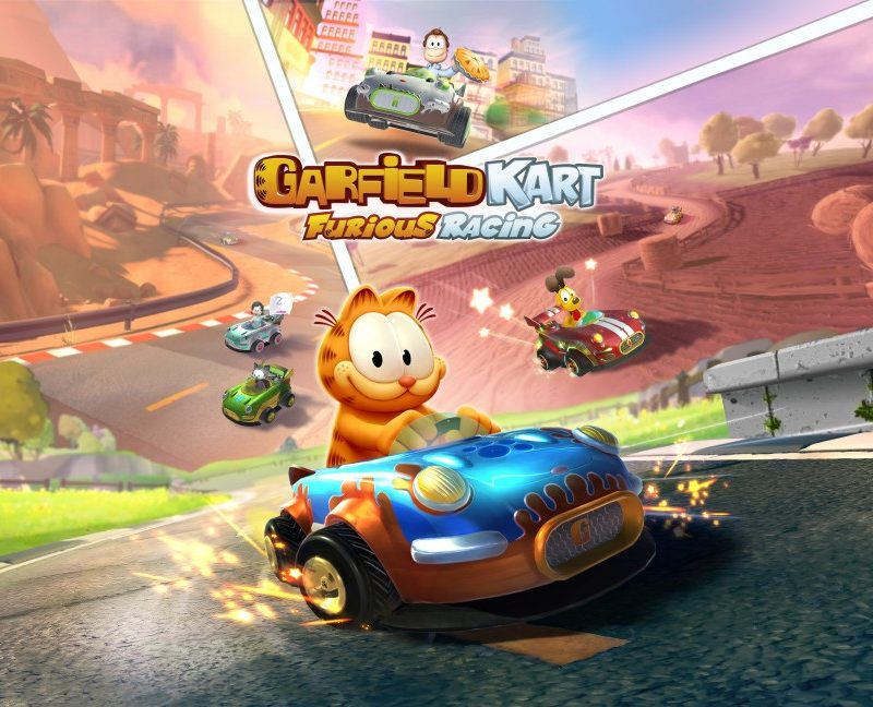 Garfield Kart: Furious Racing nu beschikbaar op PlayStation 4, Xbox One en Nintendo Switch