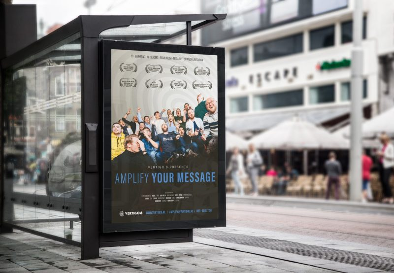 Out now: our new advert! AMPLIFY YOUR MESSAGE
