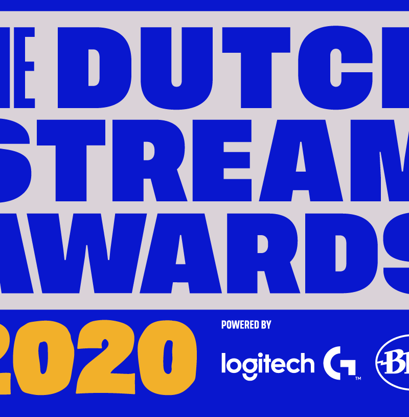 BLAMMO, LOGITECH G EN BLUE MICROPHONES KONDIGEN DUTCH STREAM AWARDS 2020 AAN