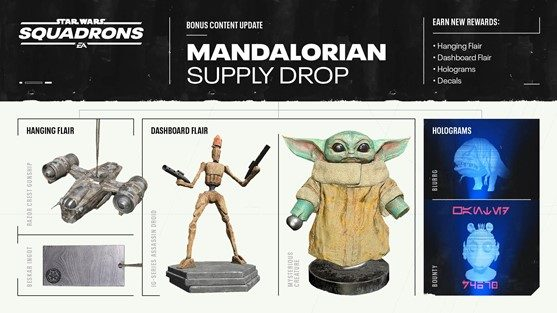 The Mandalorian maakt opwachting in Star Wars™: Squadrons