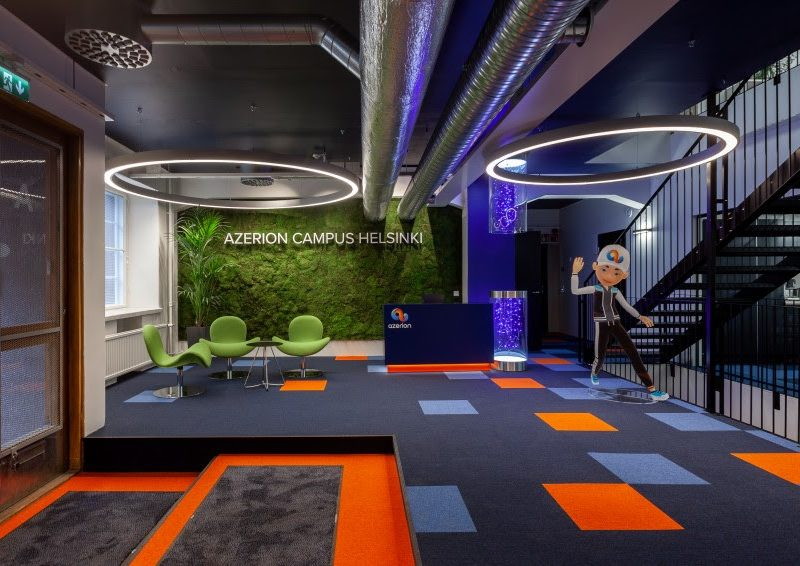 Azerion Campus Helsinki opens its doors, cementing the company's presence in one of the gaming capitals of Europe