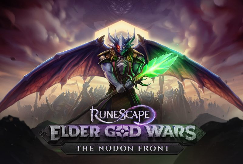 RuneScape's Elder God Wars: The Nodon Front brings war as players battle to save Gielinor from the army of Jas, and it's live today!